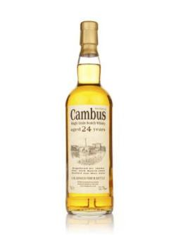 A bottle of Cambus 24 Year Old 1986 Cask 18989 (Bladnoch)