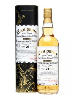 A bottle of Cameronbridge 1990 / 21 Year Old / Clan Denny Single Whisky