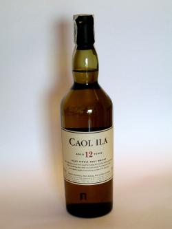 Caol Ila 12 year Front side