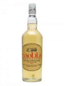 Caol Ila 12 Year Old / Oval Orange Label Islay Whisky