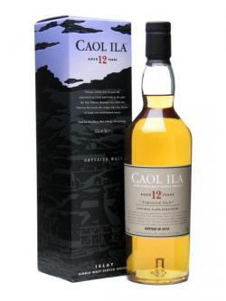Caol Ila 12 Year Old / Unpeated / Bot. 2010 Islay Whisky