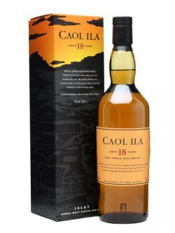 Caol Ila 18 Year Old Islay Single Malt Scotch Whisky