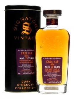 Caol Ila 1984 / 29 Year Old/ Sherry #2758/ Signatory for TWE Islay Whisky