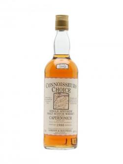 Caperdonich 1980 / Bot.1992 / Connoisseurs Choice Speyside Whisky
