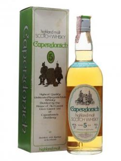 Caperdonich 5 Year Old / 40% / 75cl / Bot. 1970's / OB / Boxed Speyside Whisky