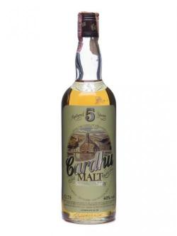 A bottle of Cardhu 5 Year Old / Bot.1980's Speyside Single Malt Scotch Whisky