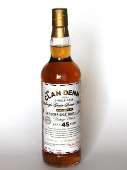 Carsebridge 1965 / 45 Year Old / Clan Denny Single Grain Scotch Whisky Front side