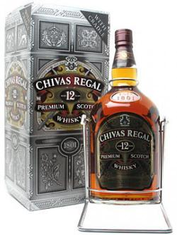 Chivas Regal 12 Year Old / Large Bottle Blended Scotch Whisk