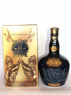 Chivas Regal Royal Salute 21 year Sapphire Flagon