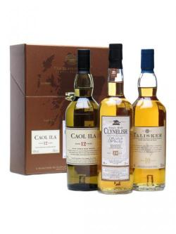 Classic Malts Coastal Collection / 3 x 20cl