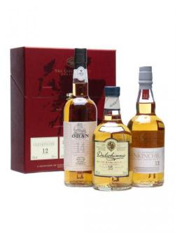 Classic Malts Gentle Collection (2) / 3 x 20cl