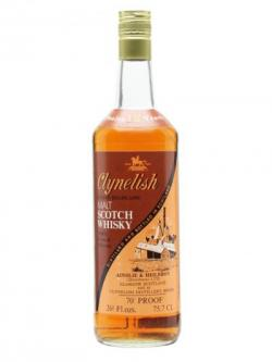 Clynelish 12 Year Old / Brown Orange / Bot.1970s Highland Whisky