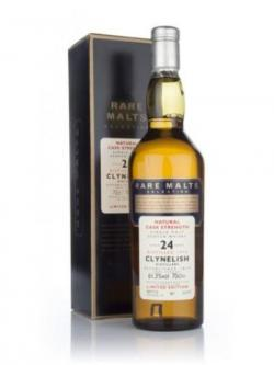 A bottle of Clynelish 24 year 1972 Rare Malts