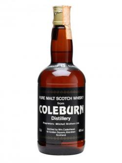 Coleburn 13 Year Old / Cadenhead Speyside Single Malt Scotch Whisky