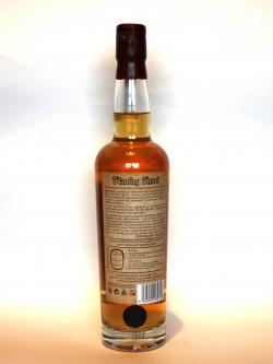 Compass Box Flaming Heart 10th anniversary Back side