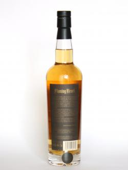 A photo of the back side of a bottle of Compass Box Flaming Heart - Release 4