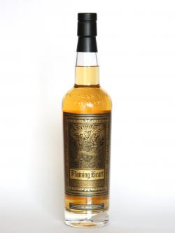 A photo of the frontal side of a bottle of Compass Box Flaming Heart - Release 4
