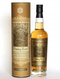 A bottle of Compass Box Flaming Heart - Release 4
