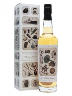 A bottle of Compass Box The Lost Blend Blended Malt Scotch Whisky