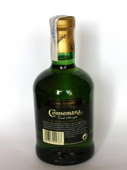 Connemara Cask Strength Back side