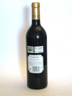 Contino Viña del Olivo 2003 Back side