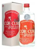 A bottle of Cor Cor Red Okinawan Rum