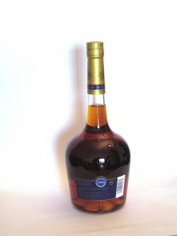 Courvoisier VSOP Cognac Back side
