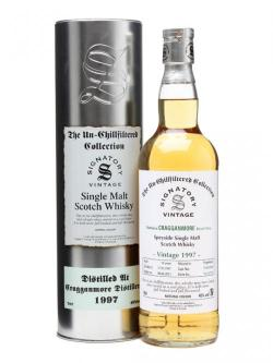 A bottle of Cragganmore 1997 / 14 Year Old / Signatory Speyside Whisky