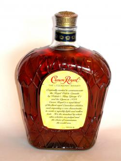Crown Royal Back side