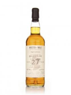 Dailuaine 27 year Master of Malt