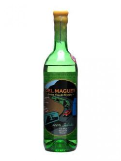 A bottle of Del Maguey Tobala (Wild Mountain) Mezcal