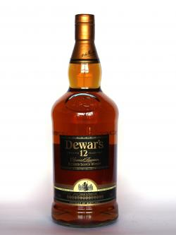Dewar's 12 year Special Reserve Front side
