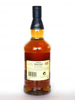 Dewar's White Label 18 year Back side
