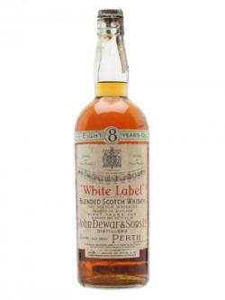 Dewar's White Label / 8 Year Old / Bot.1940s Blended Scotch Whisky