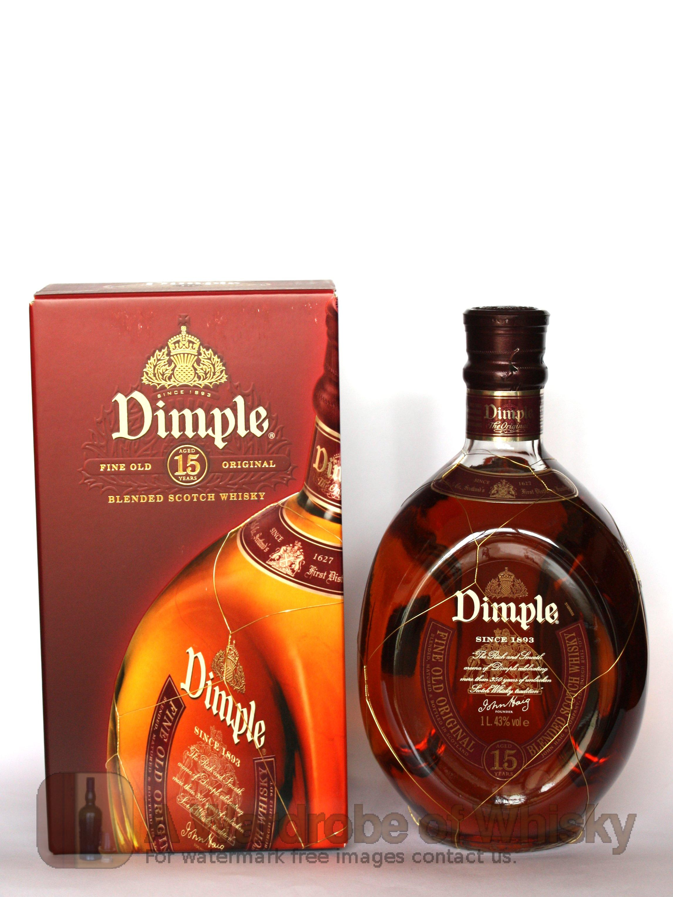 Buy Dimple Pinch Red Ceramic Decanter 15 Year Old Online: Buy Dimple 15 Year Blended Whisky - Dimple