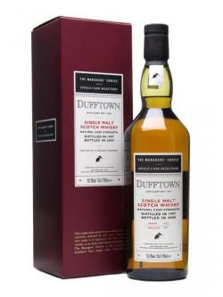 Dufftown 1997 / Managers' Choice Speyside Single Malt Scotch Whisky