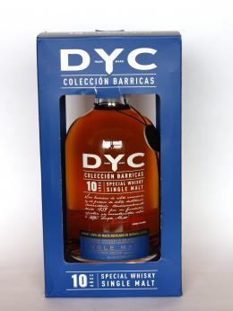 a bottle of DYC Coleccion Barricas