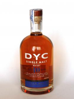 DYC 10 years old Single Malt Front side