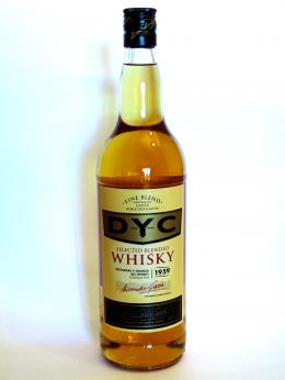 a bottle of DYC 5 years