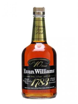 Evan Williams 1783 / No. 10 Brand Kentucky Straight Bourbon Whiskey