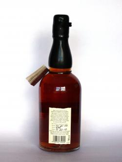 Evan Williams 2000 Single Barrel Back side