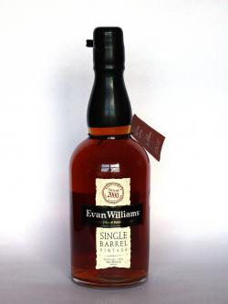 Evan Williams 2000 Single Barrel Front side