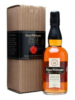 Evan Williams 2001 Single Barrel Kentucky Straight Bourbon Whisky