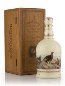 A bottle of Famous Grouse Centenary Decanter