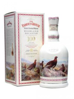 Famous Grouse / Highland Decanter 100 Years Blended Scotch Whisky