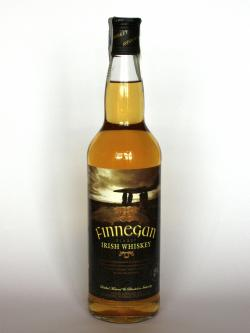 Finnegan Finest Irish Whiskey Front side