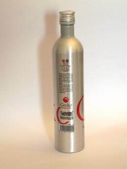 Gecko Caramel Vodka Liqueur Back side