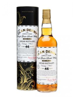 A bottle of Girvan 1965 / 46 Year Old / Clan Denny Single Grain Scotch Whisky