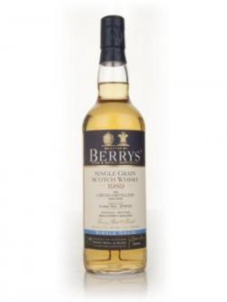Girvan 1989 Cask 37532 (Berry Brothers and Rudd)