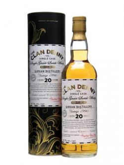 Girvan 1990 / 20 Year Old / Clan Denny Single Grain Single Whisky